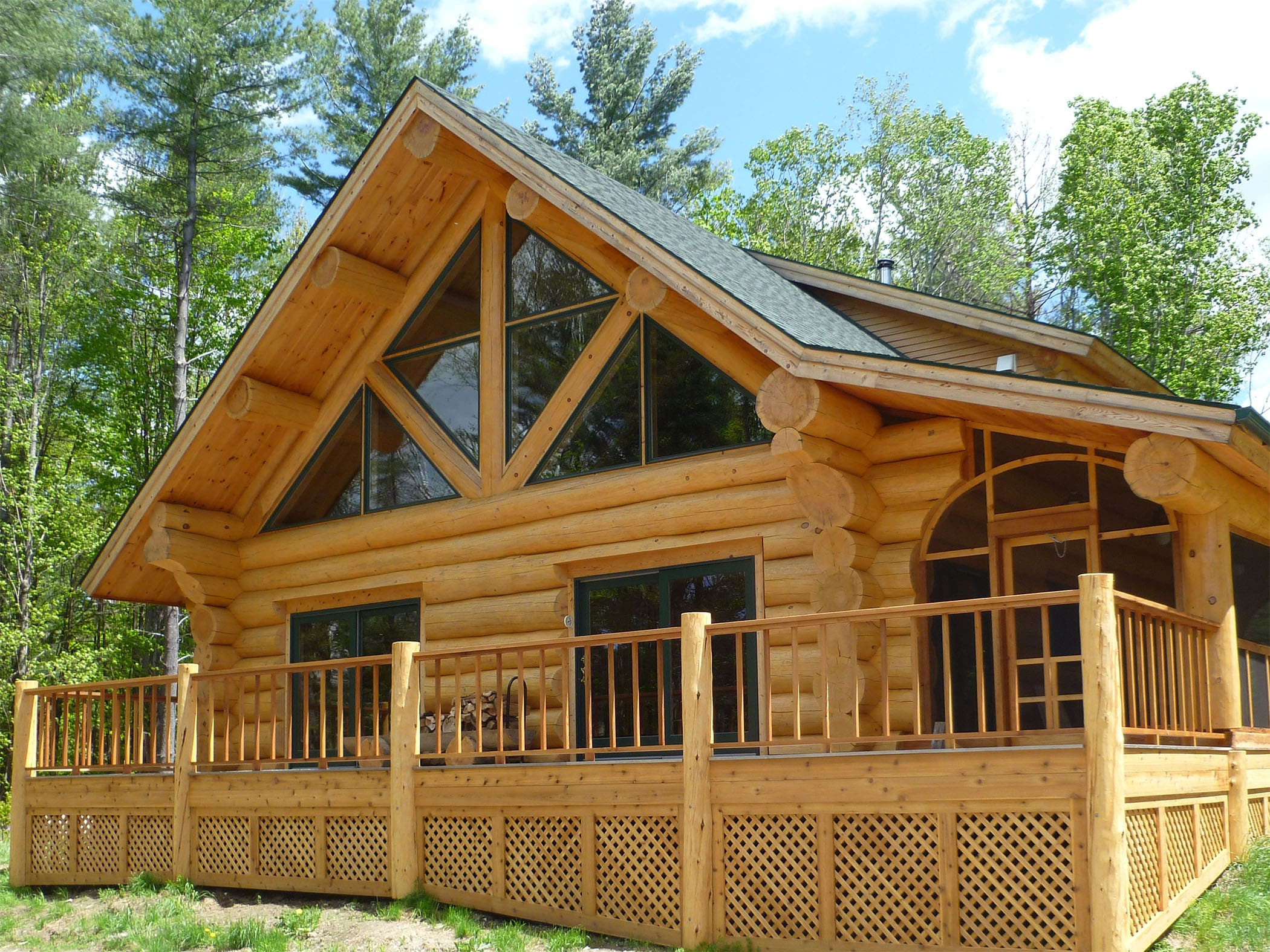 Dream log cabin home for sale