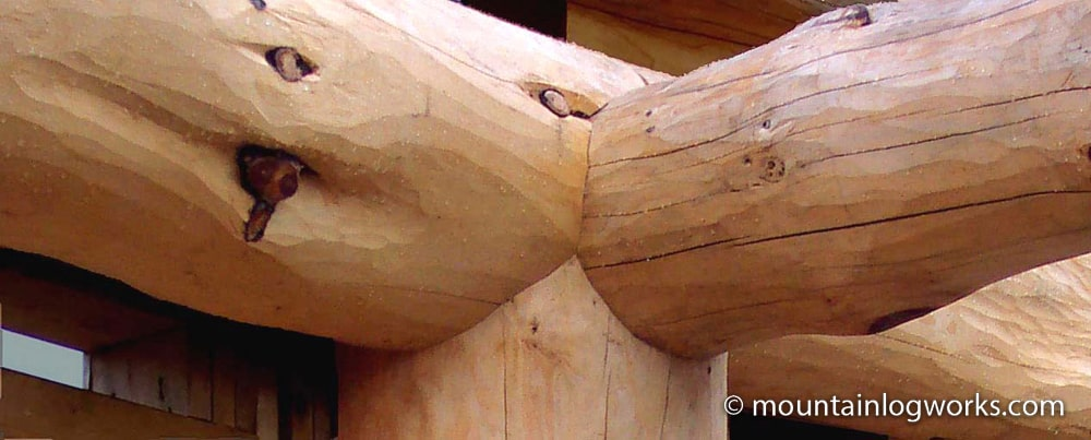 Log Joinery detail